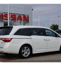 honda odyssey 2012 white van touring 6 cylinders automatic 79119