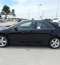toyota camry 2014 black sedan se 4 cylinders automatic 75569