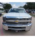 chevrolet silverado 2500hd 2015 white work truck flex fuel 8 cylinders 4 wheel drive automatic 76051