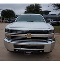 chevrolet silverado 2500hd 2015 white work truck diesel 8 cylinders 4 wheel drive automatic 76051