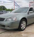 nissan altima 2005 lt  green sedan gasoline 4 cylinders front wheel drive automatic 77379