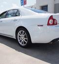 chevrolet malibu 2009 white sedan ltz gasoline 4 cylinders front wheel drive automatic 77521