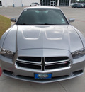 dodge charger 2013 silver sedan se gasoline 6 cylinders rear wheel drive other 75606