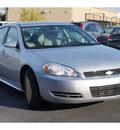 chevrolet impala 2011 silver sedan ls fleet 6 cylinders 4 speed automatic 76234