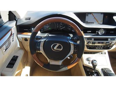 lexus es 2015 black sedan 300h 4 cylinders cvt 77546