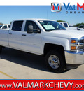 chevrolet silverado 2500hd 2015 white work truck flex fuel 8 cylinders 4 wheel drive automatic 78130