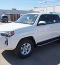 toyota 4runner 2015 white suv sr5 premium gasoline 6 cylinders 2 wheel drive automatic 76053