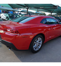 chevrolet camaro 2015 red coupe ls 6 cylinders automatic 76051