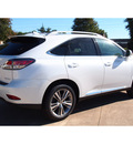lexus rx 350 2015 white suv gasoline 6 cylinders front wheel drive 6 speed automatic 77074