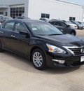 nissan altima 2015 black sedan 2 5 s gasoline 4 cylinders front wheel drive automatic 76116
