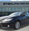 lexus es 350 2013 black sedan gasoline 6 cylinders front wheel drive automatic 77074